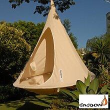 Cacoon Double – Farbe: weiß - Hängezelt für
