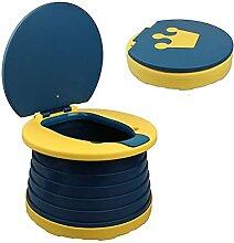Cacowap Klappbare Kindertoilette, tragbar, für