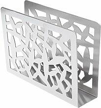 CADANIA Edelstahl Serviette Rack Box Tissue Holder