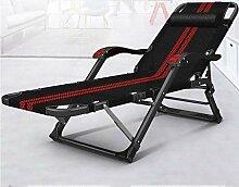 CADANIA Klappbar Sonnenliegen Tragbar Liegestuhl