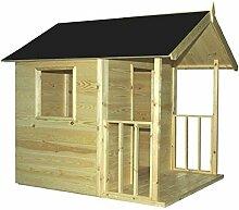 CADEMA Gartenhäuschen für Kinder - Holz Kinderspielhaus 1,2 x 1,8m