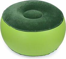 Cadillaps Luft Stuhl Aufblasbar Outdoor Indoor Rund Sitzsack Sofa Sitzkissen für Haus Büro Yoga 55*30cm