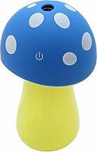 Cadillaps Mini Luftbefeuchter Pilz Auto Yoga Mit Nachtlicht Laptop Luftdiffusor