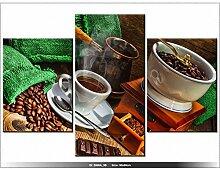 CAFÉ - TABLEAU IMPRIME MODERNE - DECO - NEW DESIGN - COFFEE