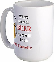 CafePress – Air Traffic Controller – Großer Becher
