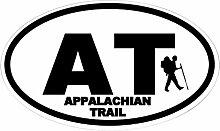 CafePress–Appalachian Trail Hiker Oval