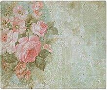 CafePress–Chic Vintage Rosa rose–weicher Fleece Überwurf Decke, 127x 152,4cm Stadion Decke