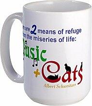 CafePress–Elend of Life...–Großer Becher
