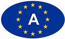 CafePress–EU Österreich Aufkleber