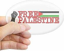 CafePress–Free Palästina Palestine Oval