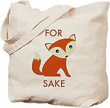 CafePress–Für Fox Sake–Leinwand Natur
