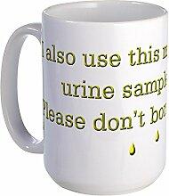 CafePress–Funny Spruch Urin Samples Kaffee