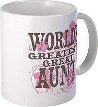 CafePress – Greatest Great Tante – Becher,