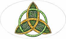 CafePress–Keltischer Trinity Knoten Oval