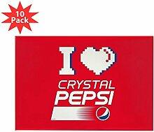 CafePress–Kristall Pepsi Herz–Rechteck