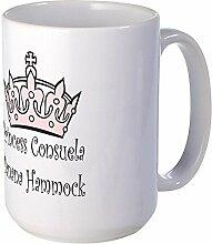 CafePress–Prinzessin Consuela–Großer Becher
