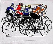 CafePress–Tour de France–weicher Fleece Überwurf Decke, 127x 152,4cm Stadion Decke