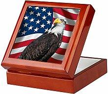 CafePress-USA Flagge mit Bald
