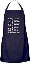 CafePress-Vegan für alles-Küche Schürze