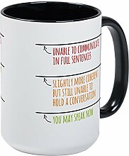 CafePress – You May Speak Now Becher mit