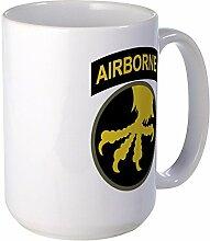 CafePress Airborne Großer Becher Tasse groß–Standard mehrfarbig