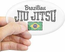 "CafePressAufkleber ""Brazilian Jiu"