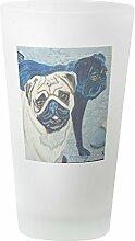 CafePress - Bierglas, 454 ml Trinkglas frosted