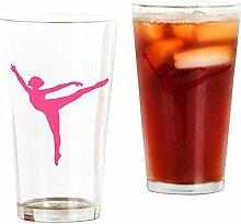 CafePress Bierglas, Arabesque, 473 ml Trinkglas