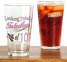 CafePress Bierglas Fabulous 101St Pint farblos
