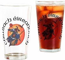 CafePress Bierglas mit irischer Hexe (Gaelic)