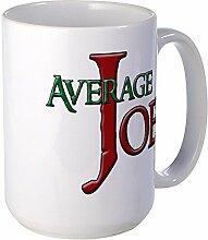 CafePress durchschnittliche Joe Großer Becher Tasse groß–Standard mehrfarbig