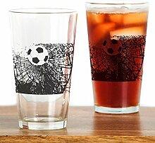 CafePress Glaskugel für Pint-Glas farblos