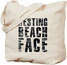 CafePress Handtasche mit Strandmotiv, canvas,