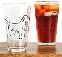 CafePress Irish Setter Sketch Pint-Glas