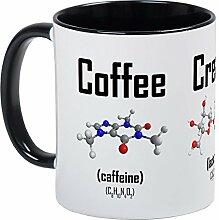 CafePress Kaffeebecher, Sahne und Zuckermolekül