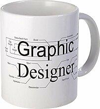 CafePress Kaffeetasse mit grafischem Design Mega