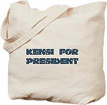 CafePress Kensi for President Tragetasche, canvas,