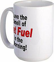 CafePress Love den Geruch von Jet Fuel Großer Becher groß