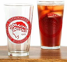 CafePress - Olympiacos Drinking Glass - Pint