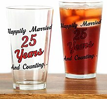 CafePress Pint-Glas, 473 ml Trinkglas farblos