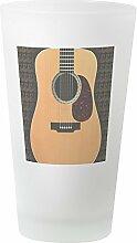 CafePress Pint-Glas für Akustikgitarren frosted
