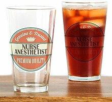 CafePress Pint-Glas für Krankenschwester,