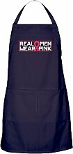 CafePress - Real Men Wear Pink - Küchenschürze