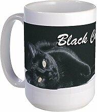 CafePress schwarz Cats Rule 2großer Becher Tasse groß -