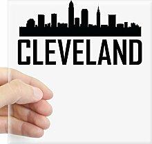 CafePress Skyline von Cleveland Oh