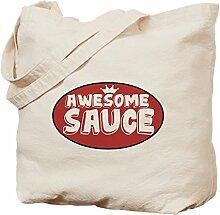 CafePress Tasche für Sauce, canvas, khaki, M