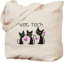 CafePress Tasche für Tierarzt, canvas, khaki, M
