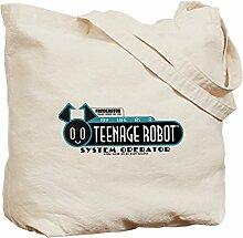 CafePress Teenage Roboter Tragetasche für 3