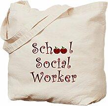 CafePress Tragetasche für Schule und soziale