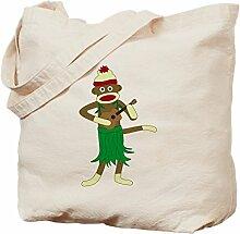 CafePress Tragetasche für Ukulele, Sock Monkey,